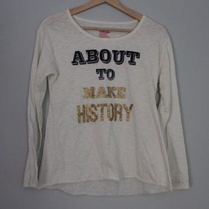 Epic Threads Girls XL About To Make History Shirt